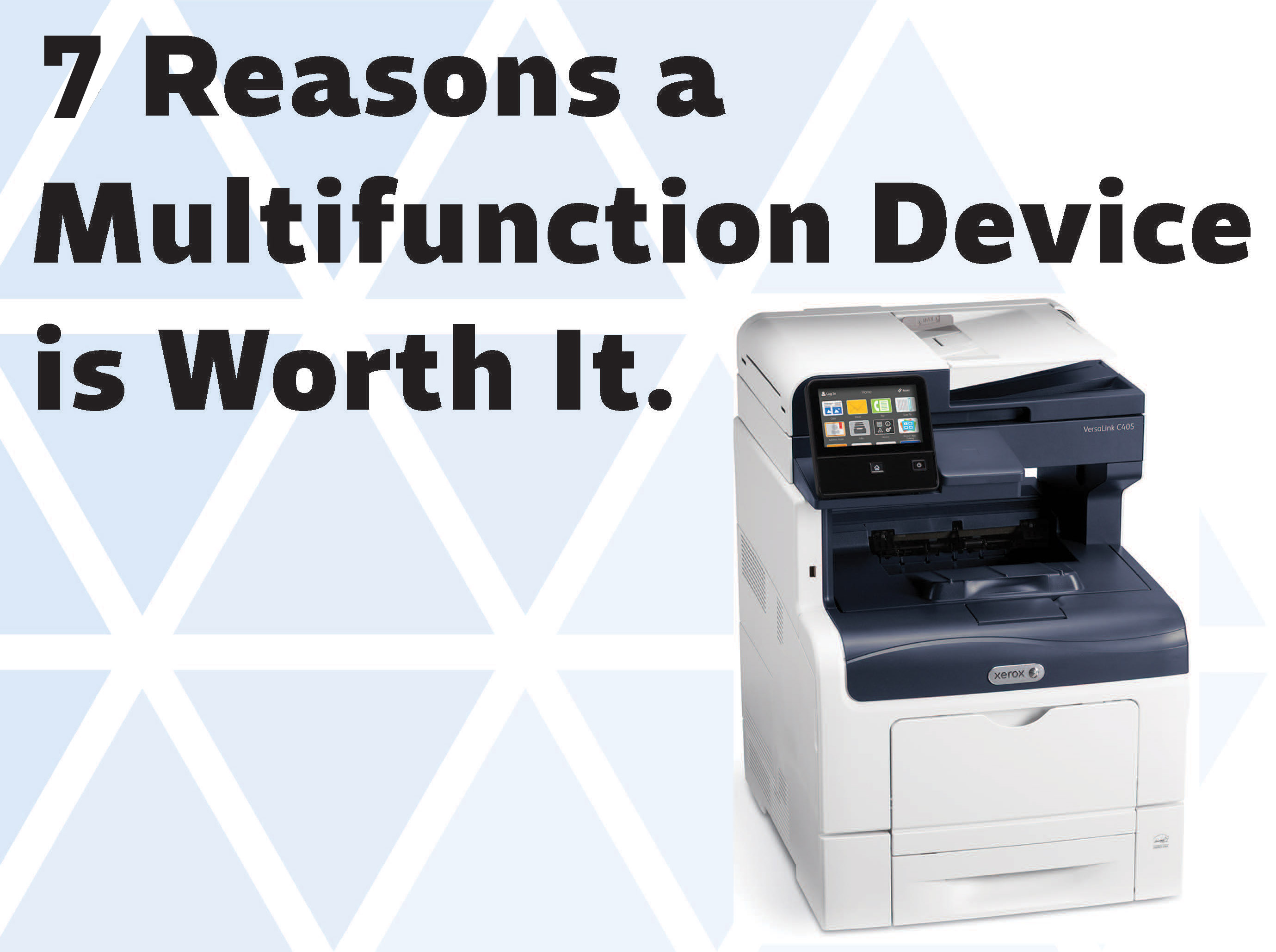 A multifunction device (MFD) is a device that performs a variety of functions that would otherwise be carried out by separate devices.